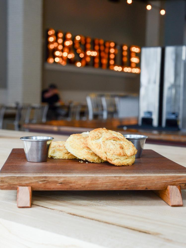 Biscuit Love started as a food truck in 2012, and then co-owners Karl and Sarah Worley opened a restaurant in the Gulch in 2015. Later that year, Bon Appetit named it one of the nation's 50 best new restaurants.
