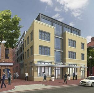 Saul Investment Group LLC has purchased the site of the planned Flats at Blagden Alley.