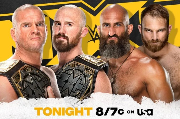 NXT - Burch and Lorcan vs Ciampa and Thatcher