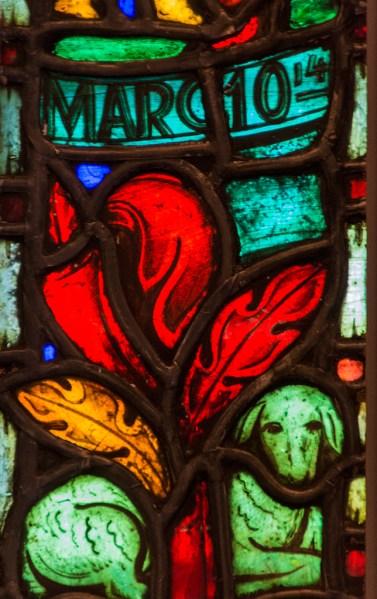Kyrkligt fönster - Margareta