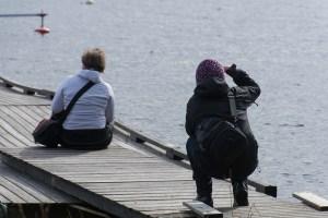 Olika äro fotoställningarna- Margareta