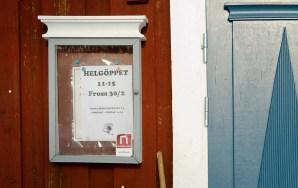 Öppnar igen när februari har 30 dagar, Hägnan 2013 - lite på sniskan. - Margareta