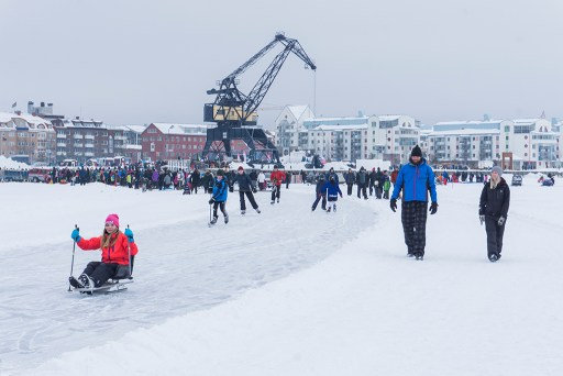 Luleå on ice 2016-03-05 - Margareta