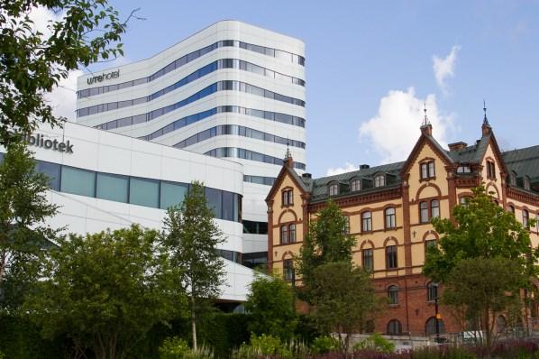 Gammalt möter nytt i Umeå