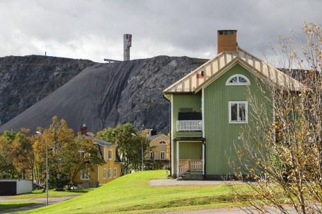 Härlig bakgrund och läckert ljus, Kiruna
