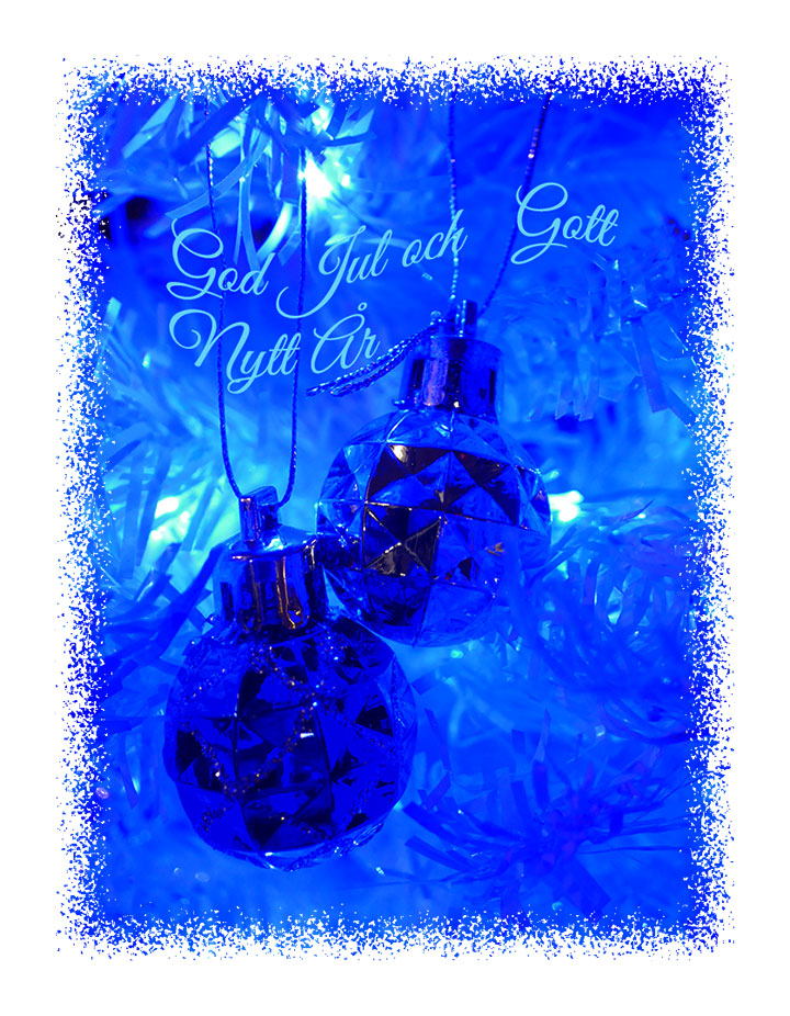 Julkort 2016 av Gunbritt