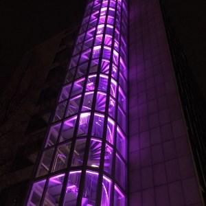 Stadshuset by night - Ewa