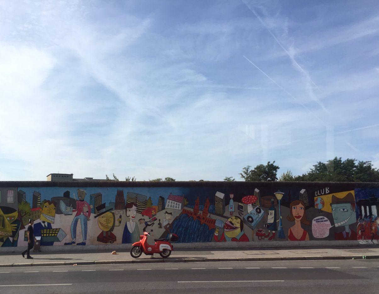 20 september - Berlinmuren vid East Gallery