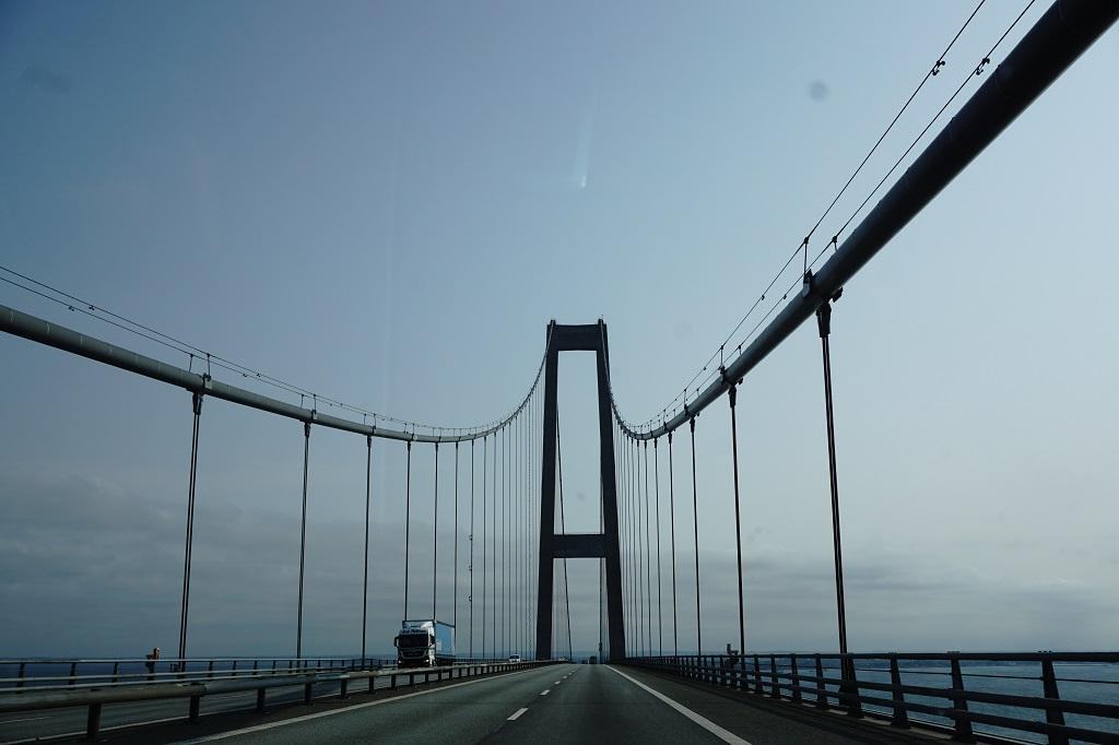 3 september - Stora Bält-bron