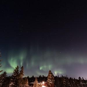Norrsken i Kallax - av Cricco