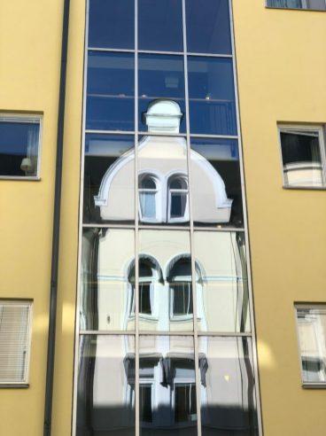 Gammalt och nytt längs Skeppsbrogatan - av Ewa