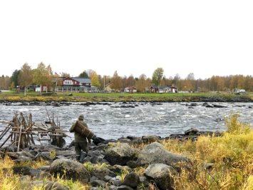 Jag ser på Sverige. Kukkolankoski. Av Ewa