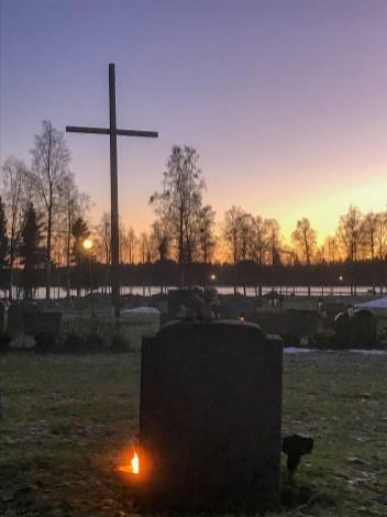 Örnäsets kyrkogård - av Eva