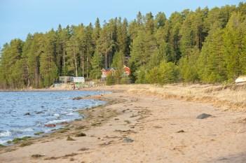 Längs Storsand, Gammelstad - av Eva