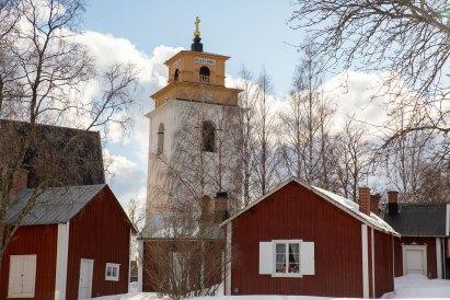 Kyrkbyn - av Eva