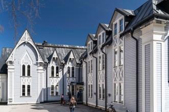 Stationsgatan Luleå -av Margareta