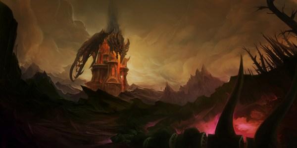 Art - Blizzard Warcraft Diablo World