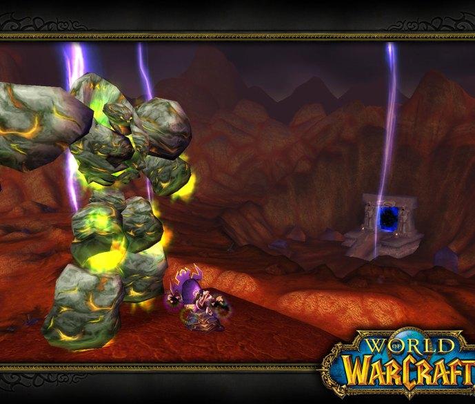 Un Golem en World of Warcraft