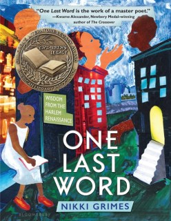 Image result for one last word nikki grimes
