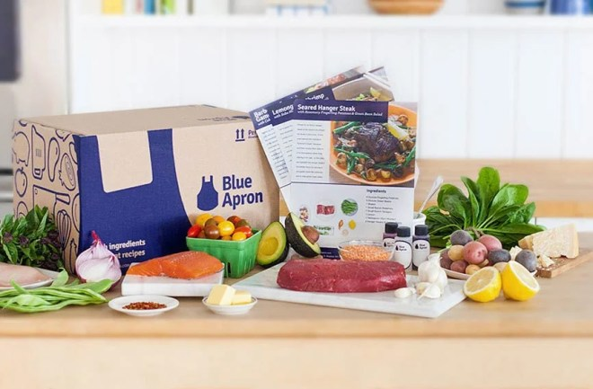 Blue Apron, holidays, cooking, Chistmas