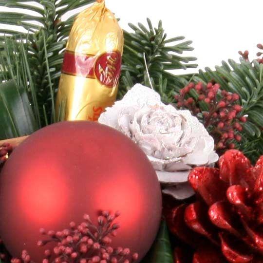 Blumenstrau Marzipan Advents Special mit Gratiszugabe