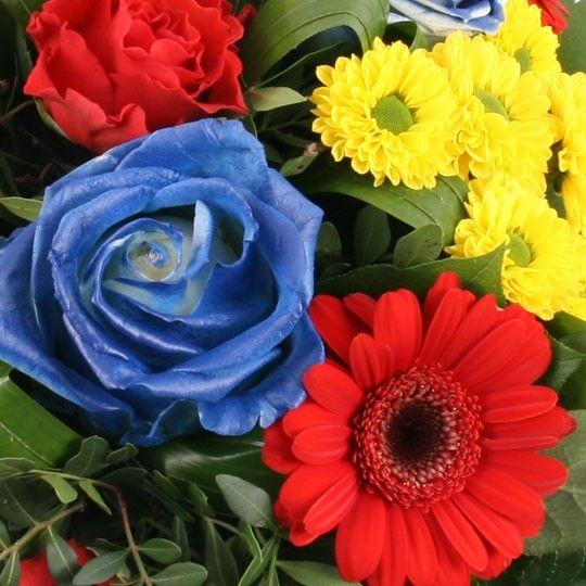 Blumen Weltmeister Strauss  mit Blumenfee schnell und