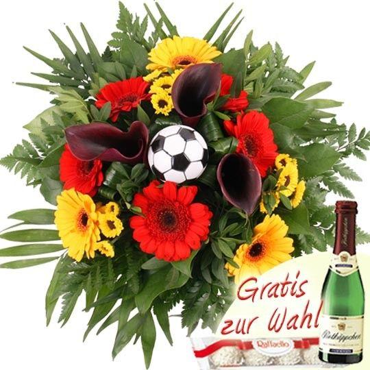 Blumenstrau DeutschlandBlumen online zur FuballEMBlumenversand mit Blumenfee