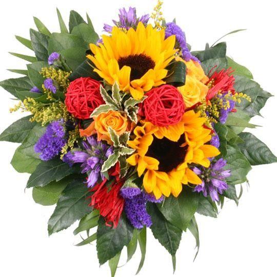 Blumenstrau Shining Sun Premium  Blumen online