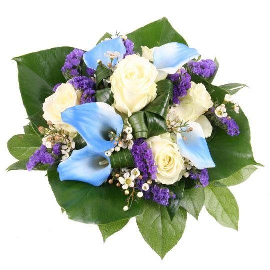 Geburtstagsstrau blauer diamant mit 3 Gratiszugaben