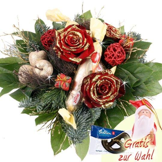 Blumenstrau AdventsSchleckermaeulchen online