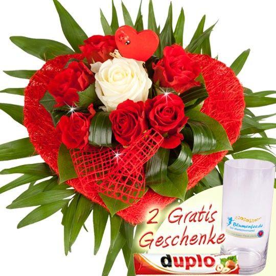 Blumenstrau zum Muttertag und zum Valentinstag