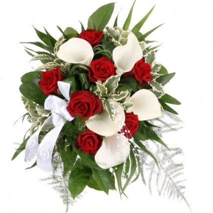 Brautstrau My Melody RosenCalla Brautstrau online deutschlandweit bestellen und versenden