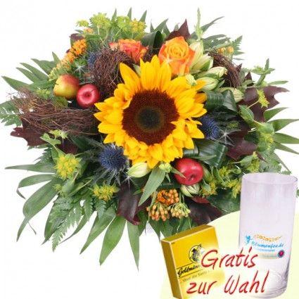 Blumenstrau Herbst  Herbststrauss online verschicken mit