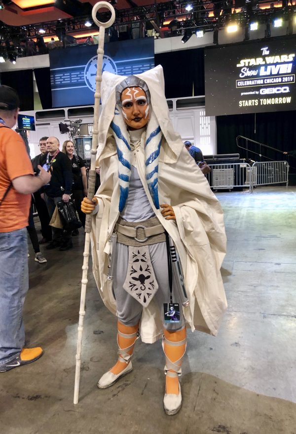 The cosplayers of Star Wars Celebration 2019