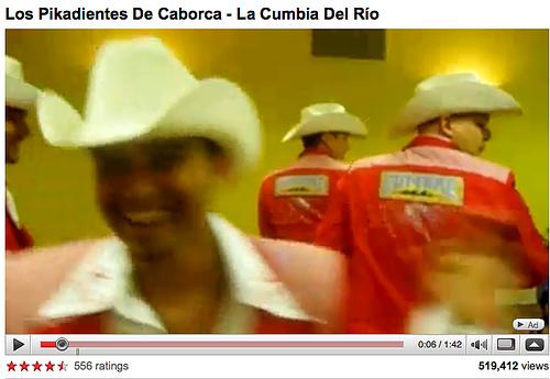 Los Pikadientes: La Cumbia Del Río (YouTube Screengrab)