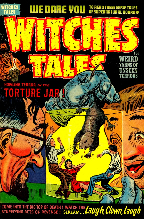 Blog boing boing a fantastic collection of covers from the pre comics code comic book witches tales too bad fredric wertham had to come along and spoil the fun fandeluxe Choice Image