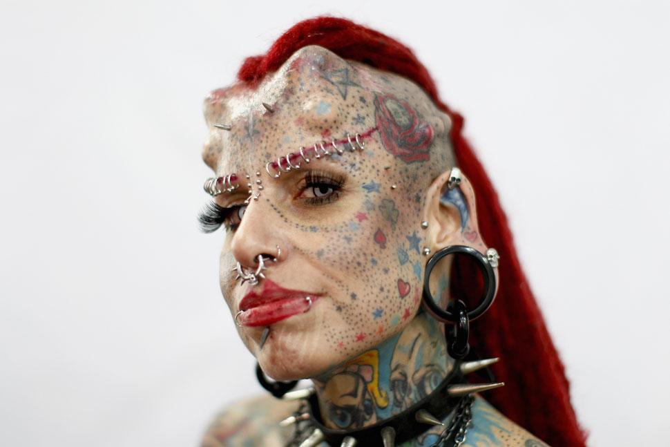 Vampira Tattoo Meet Mexican tattoo diva   La