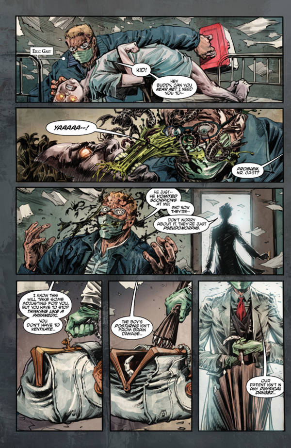 Witch Doctor: demented graphic novel about a metaphysical