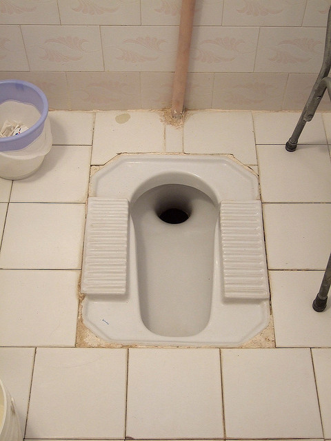 Buy Porta Potty >> How to: Use a squat toilet / Boing Boing