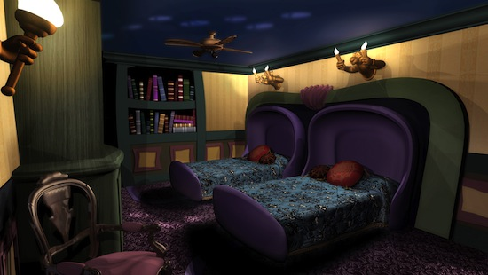 Disney floats the idea of Haunted Mansionthemed hotel rooms  Boing Boing