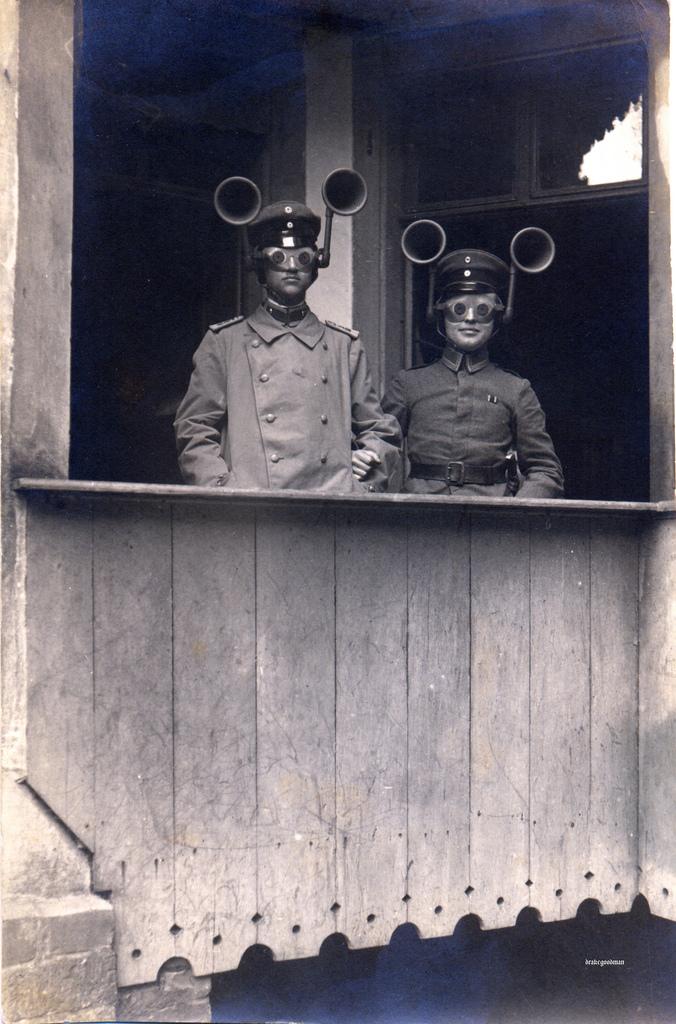 Soviet plane-spotting head-gear