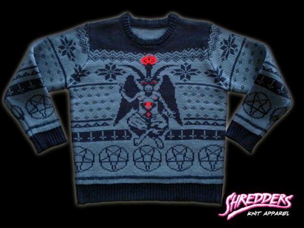 Christmas sweaters featuring Satan, sasquatch, etc. / Boing Boing