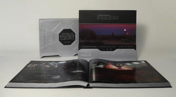 Star Wars: Frames, book set of Lucas\'s favorite film stills / Boing ...