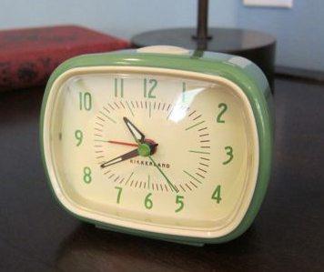 Kikkerland Retro Alarm Clock