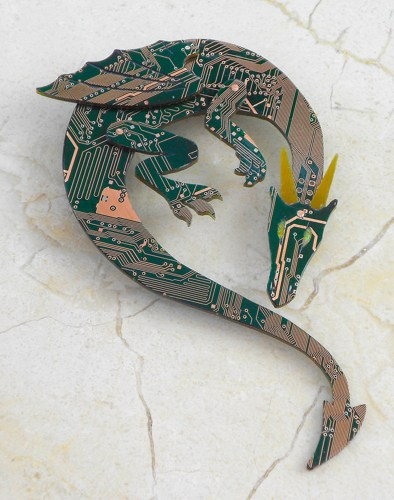 Circuit board dragons