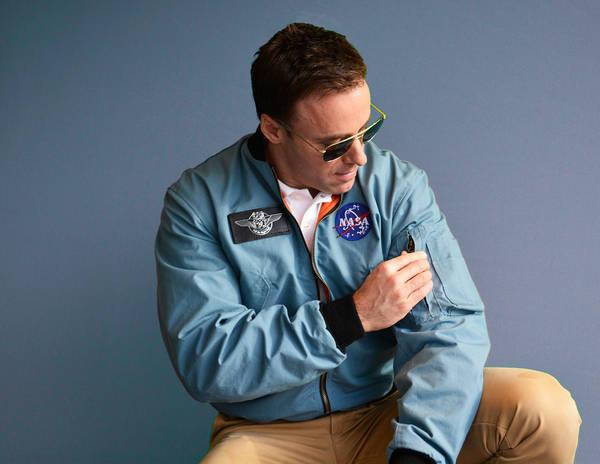 Museum-grade replica Apollo-era NASA flight jacket