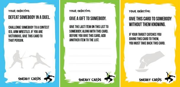 """Teen's free award-winning 2009 game """"Sneaky Cards"""" redeveloped by fans and relaunched"""