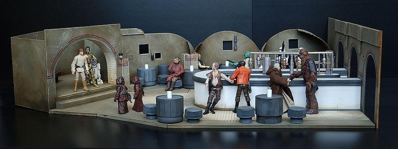 Elaborate, detailed Star Wars dioramas / Boing Boing