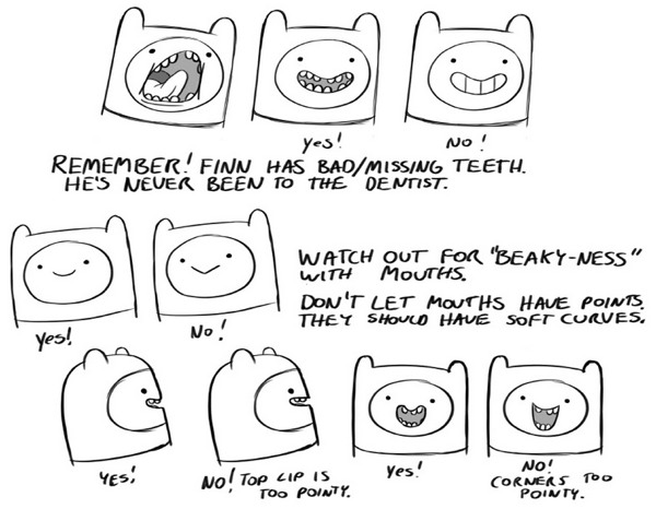 how to draw adventure time characters boing boing