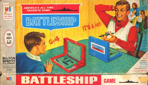 Original Battleship Box Cover